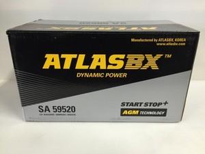 新品ATLAS BX SA595-20 AGMバッテリー 95Ah  アイドリングストップ車