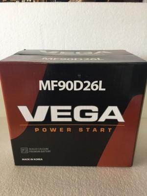 VEGAバッテリー 90D26L (75D26L 80D26L)同等品