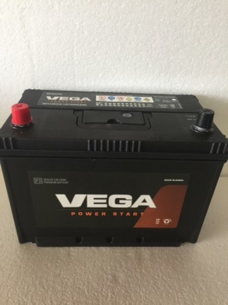 VEGAバッテリー  115D31R (95D31R 105D31R)同等品 末尾D31R